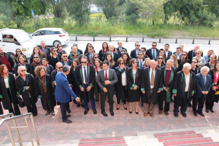 Bodrum'da Avukatlar Günü Kutlaması