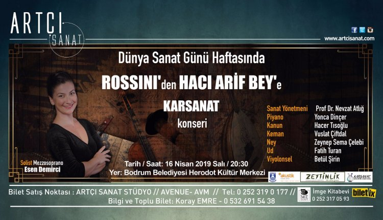 Rossini'den Hacı Arif Beye...