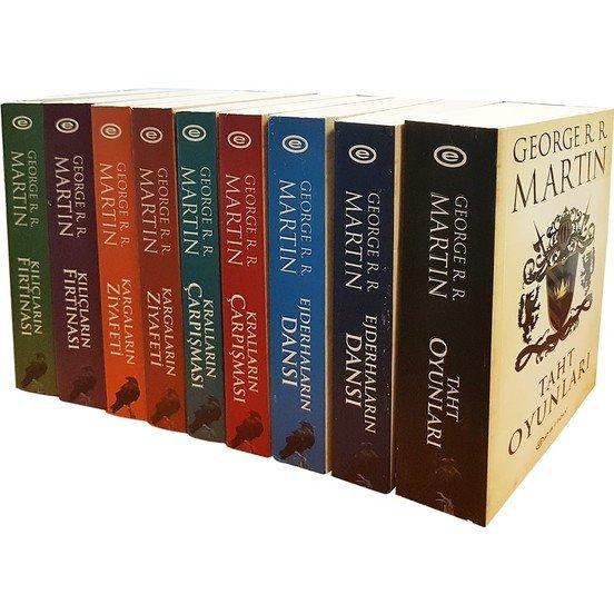 Game of Thrones Kitaplarına İlgi Yüzde 254 Arttı