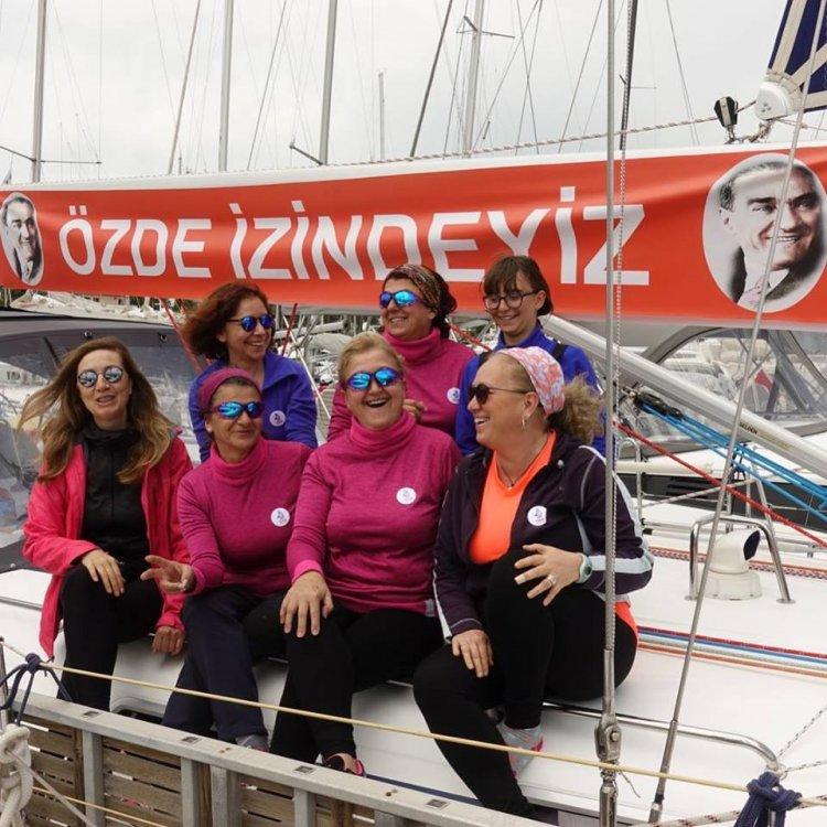 3 Kadın Denizci Yeni Sefere Yelken Açtı
