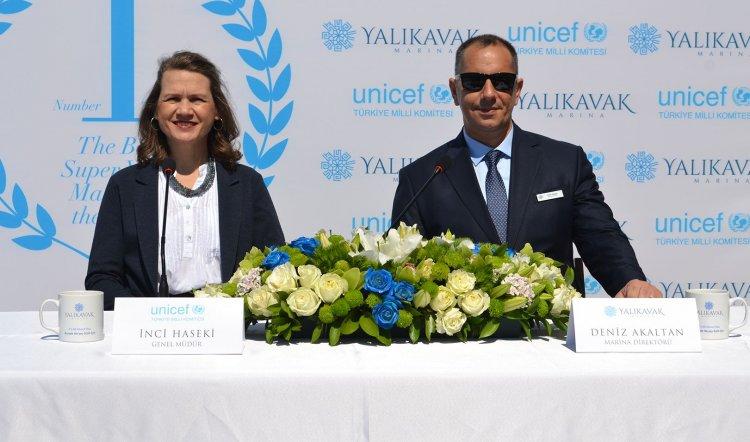 Yalıkavak Marina'da UNICEF Destekli Etkinlik