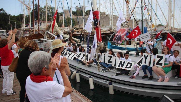 Gençler Samsun'a Çıkışı Canlandırdı