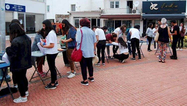 Mumcular'da Gençler Sanatla Buluştu