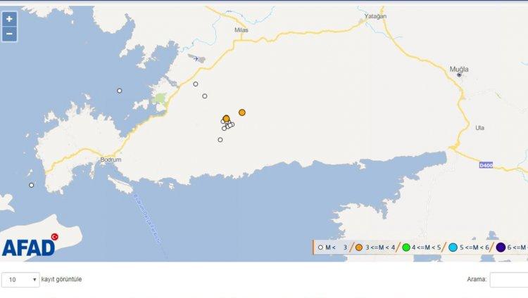 Kısırlar'da 2 Deprem!