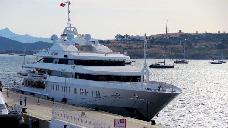 Şeyhin 118 Milyon Dolarlık Yüzen Sarayı Bodrum'da