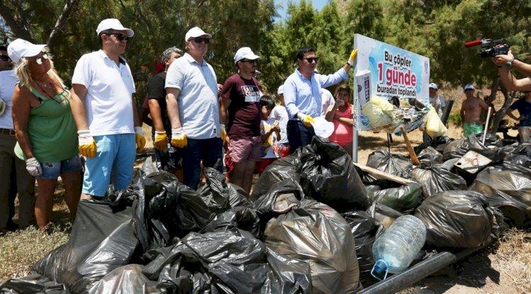Çatalada'da Temizlik Harekatı