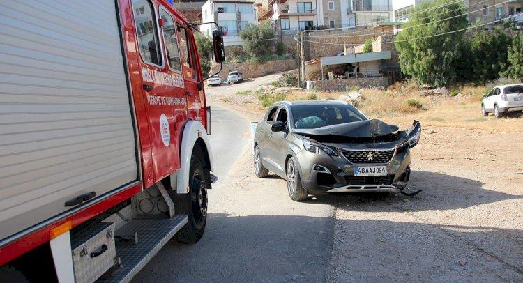 Film Sahnelerini Andıran Kazada 3 Kişi Yaralandı!