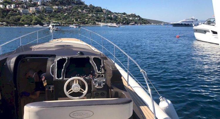 Tekne Hırsızları Türkbükü'ne Dadandı!