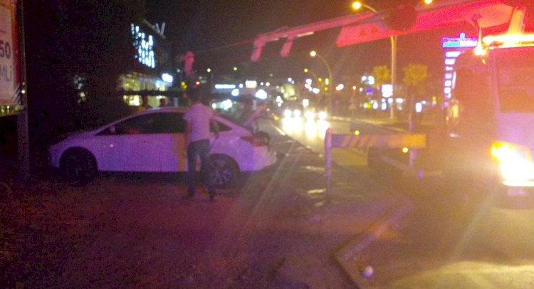 Konacık'ta Kaza; 2 Yaralı!