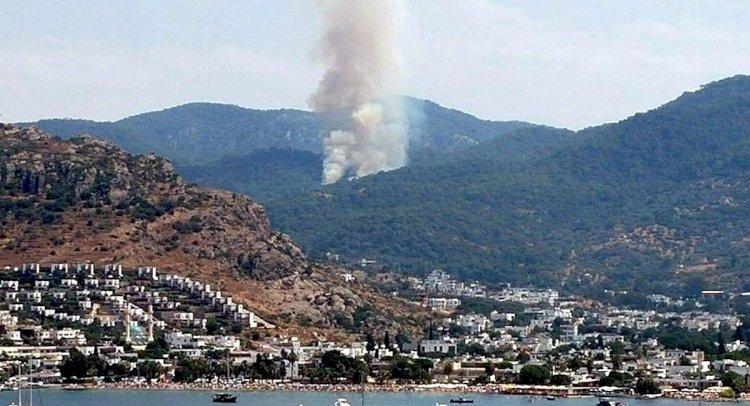 Gündoğan'da Orman Yangını!..