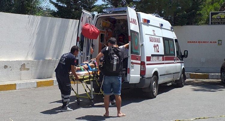 Torba'da Kaza: 1 Yaralı!
