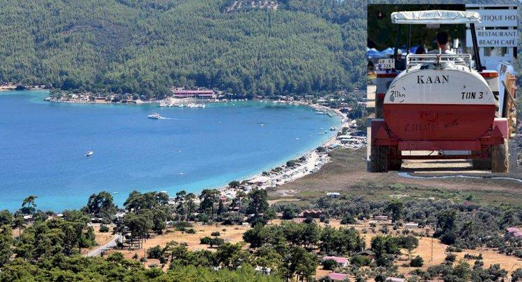 Dünyaca Ünlü Akbük Koyu'nda Taşıma Suyla Turizm!