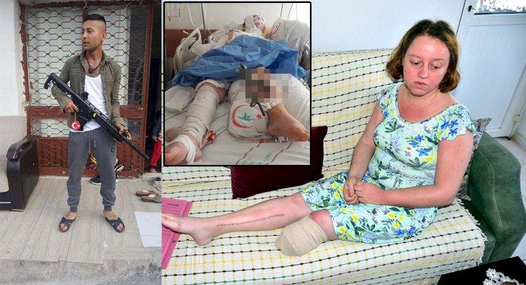 Eşinin Vurduğu Manolya: Ölmek İstemiyorum!