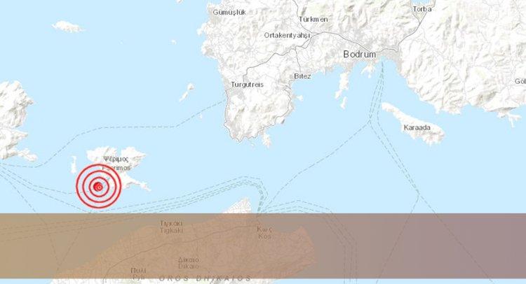 Keçi Adası'nda Bir Deprem Daha!