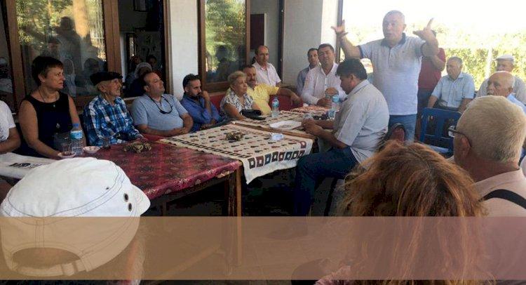 Çamlık'ta RES Toplantısı!..