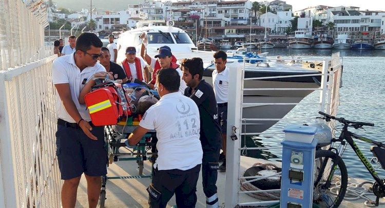 Teknede Kalp Krizi Geçirdi, Kurtarılamadı!