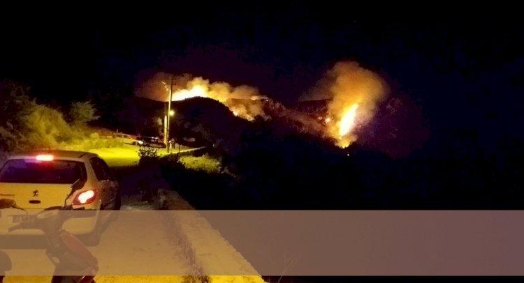Karabağ'da Korkutan Yangın!