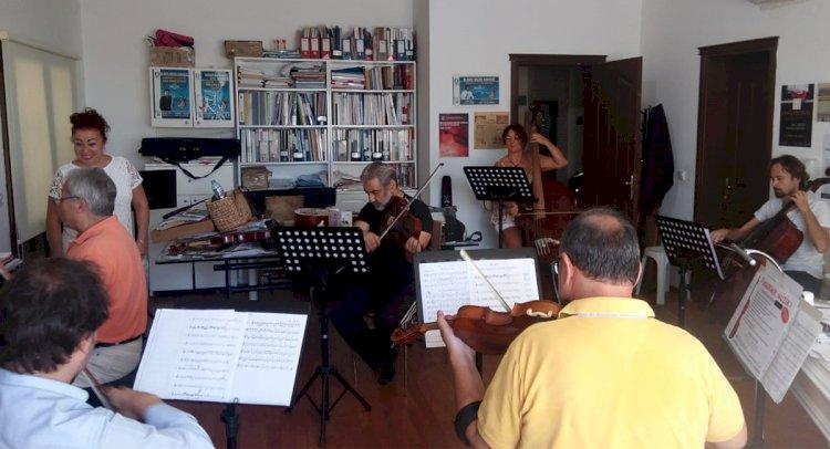 Filarmoni Orkestrası Konsere Hazırlanıyor