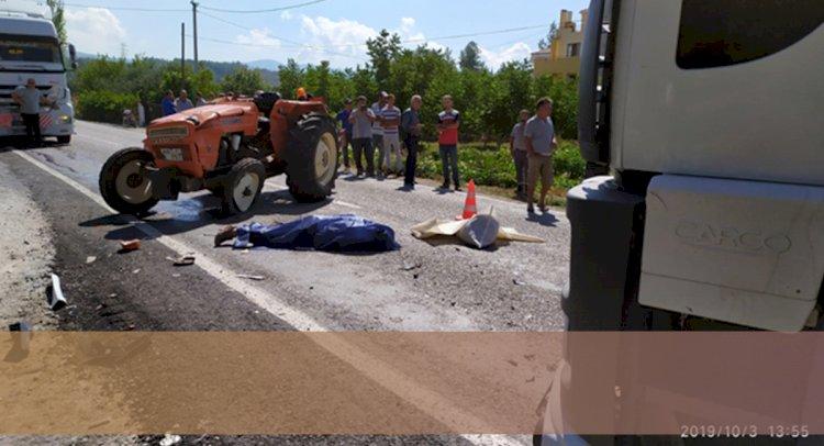 Milas'ta Yine TIR Kazası; 1 Ölü!